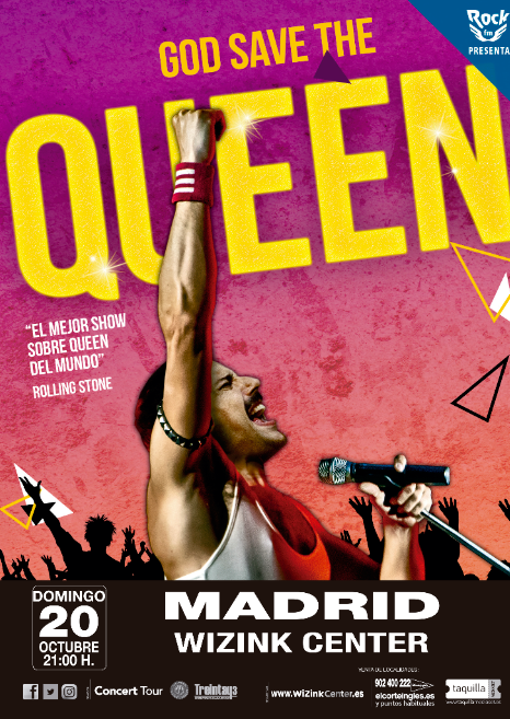 GOD SAVE THE QUEEN | MADRID 20 DE OCTUBRE